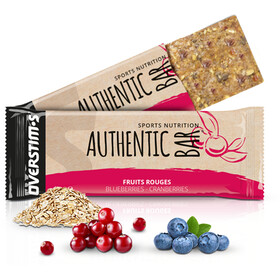 OVERSTIM.s Authentic Caja Barritas Energéticas 6x65g, Red Berries